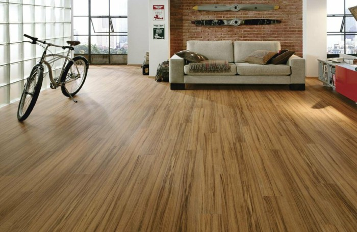 salon suelo laminado diseño moderno