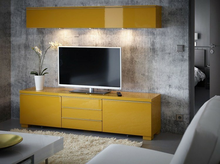 salones led decorado amarillos detalles amarillo