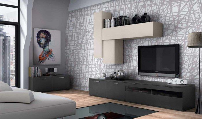 Salones peque os ideas frescas y funcionales en 50 estilos - Salones pequenos modernos ...