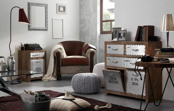 salones pequeños ideas soluciones decoracion maderas