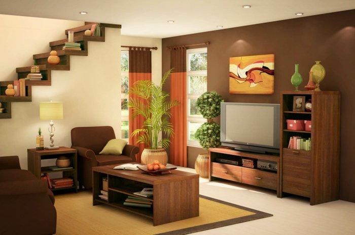 salones pequeños ideas soluciones estantes muebles