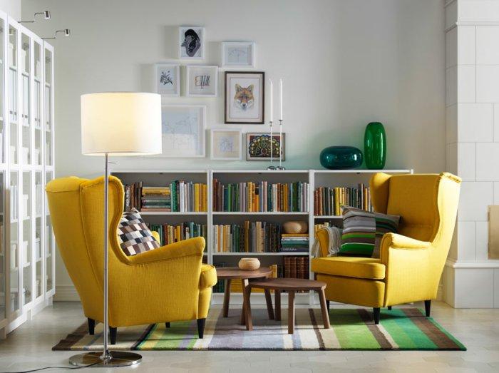 salones pequeños ideas soluciones estilos alfombra