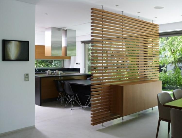 Separadores de ambientes aumentando la intimidad - Mueble separador de ambiente ...