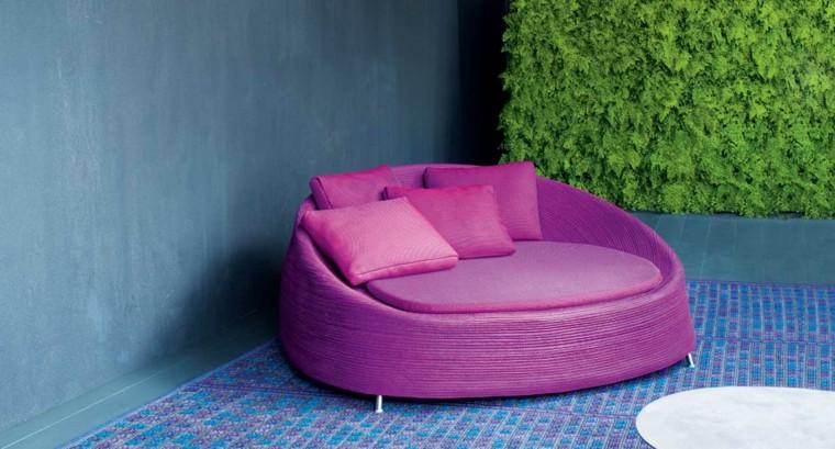 sillon purpura jardin Paola Lenti ideas diseno