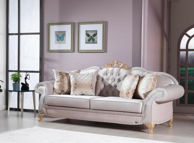 sofá Chester tonos beige
