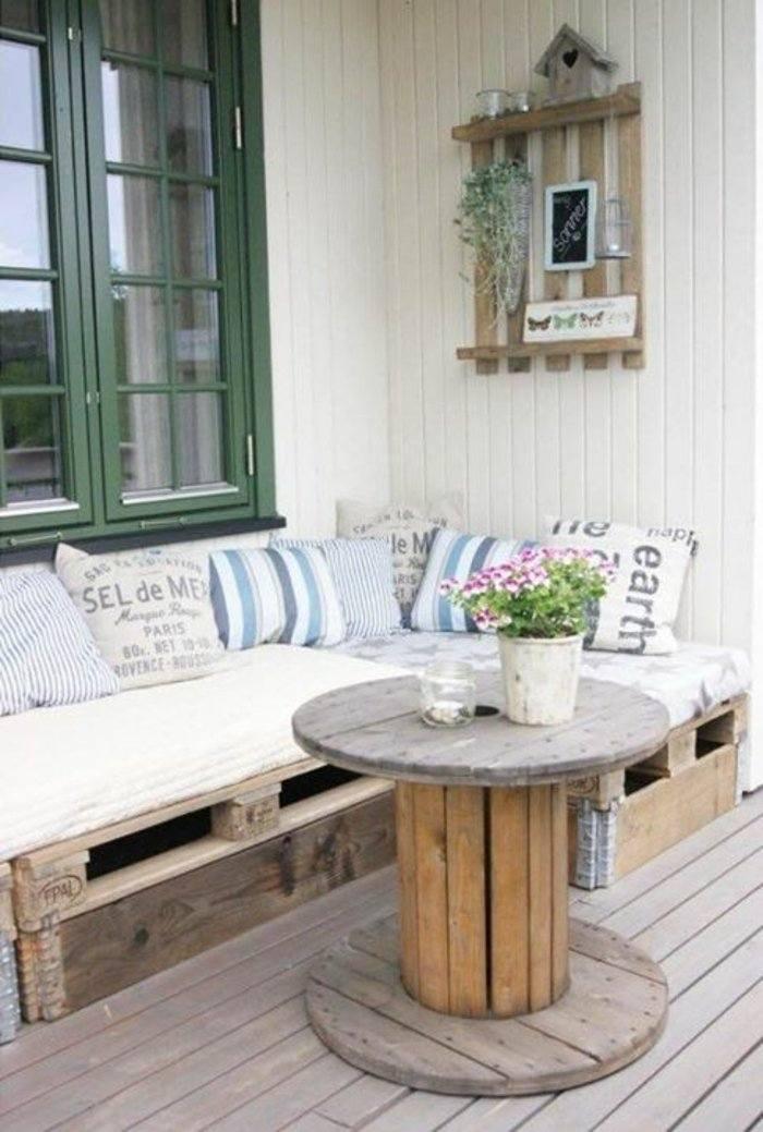 sofás exterior deco terraza