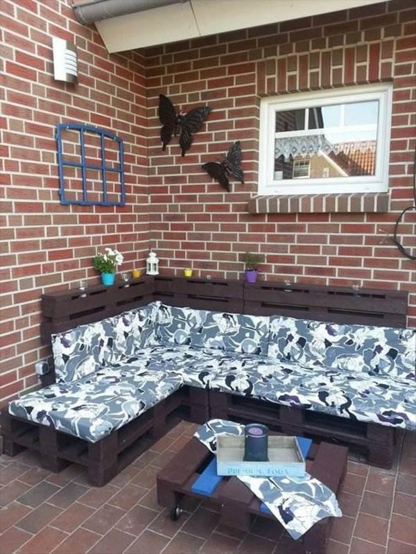 artesania palet sofa exterior