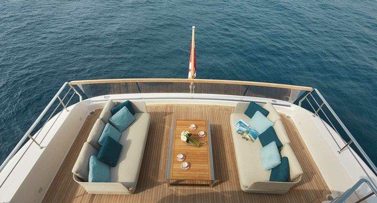sofas aire libre barco originales ideas