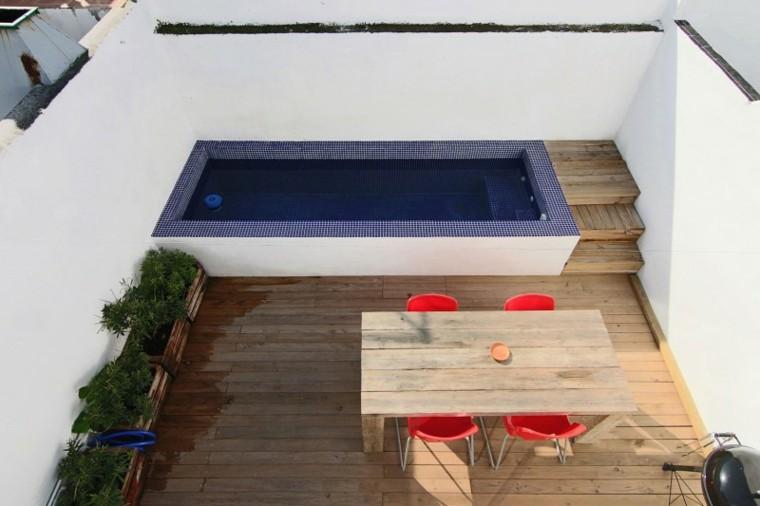 suelo mesa madera comidas aire libre ideas