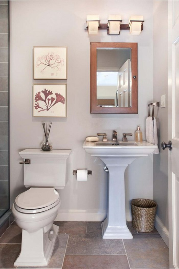 Como decorar un ba o peque o y sencillo econ micamente for Small bathroom windows for sale