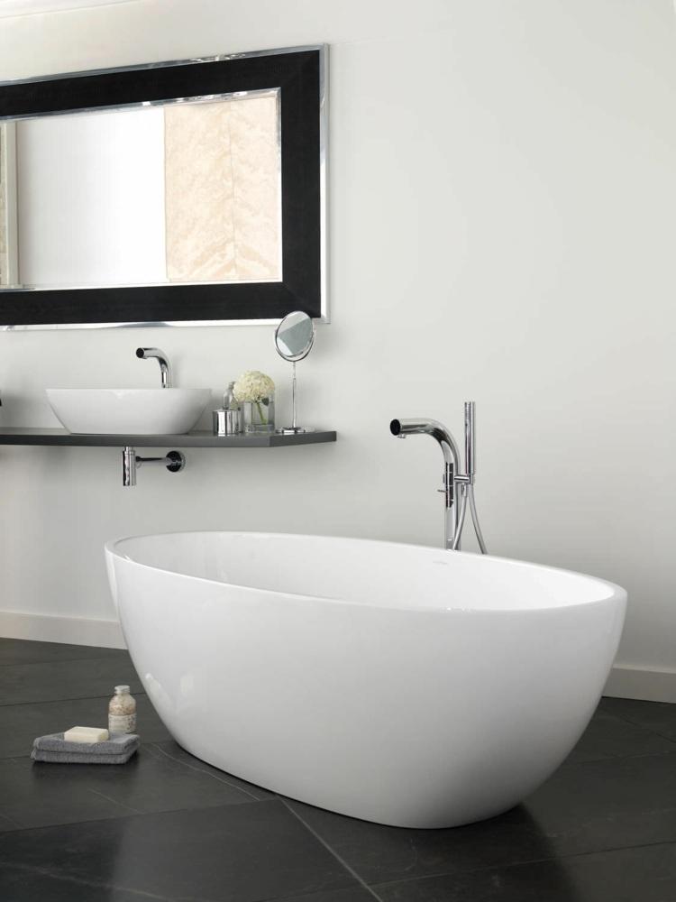 suelos ladrillos decorado toallero espejos