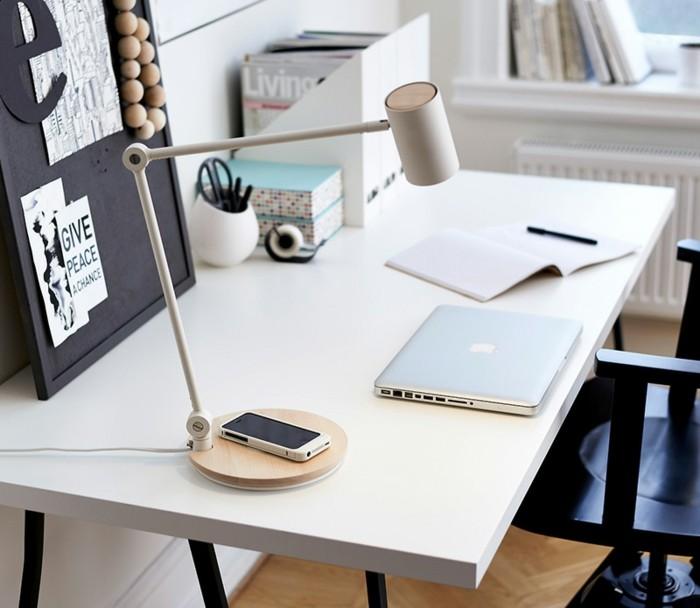 tecnologia mobiliario detalles mesas cargador