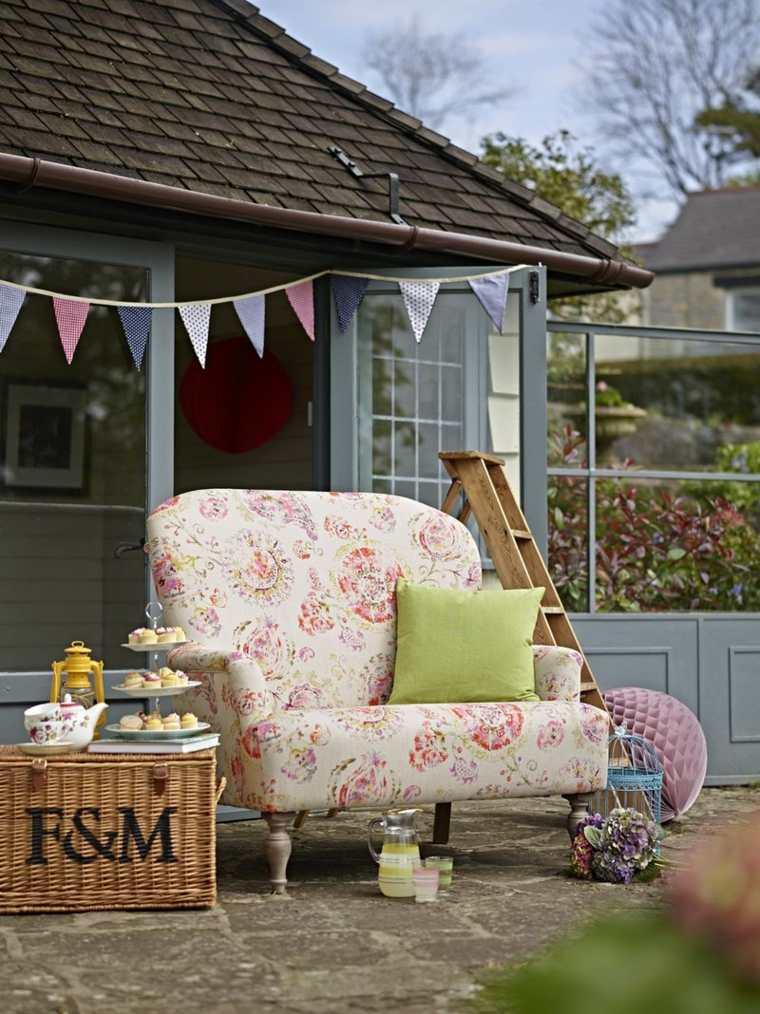 telas para terrazas acolchados y tapizados para exterior