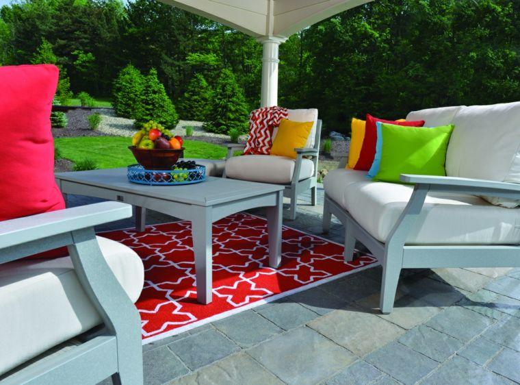 telas para terrazas colores vivos