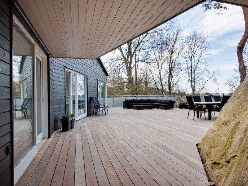 terraza diseño moderno madera