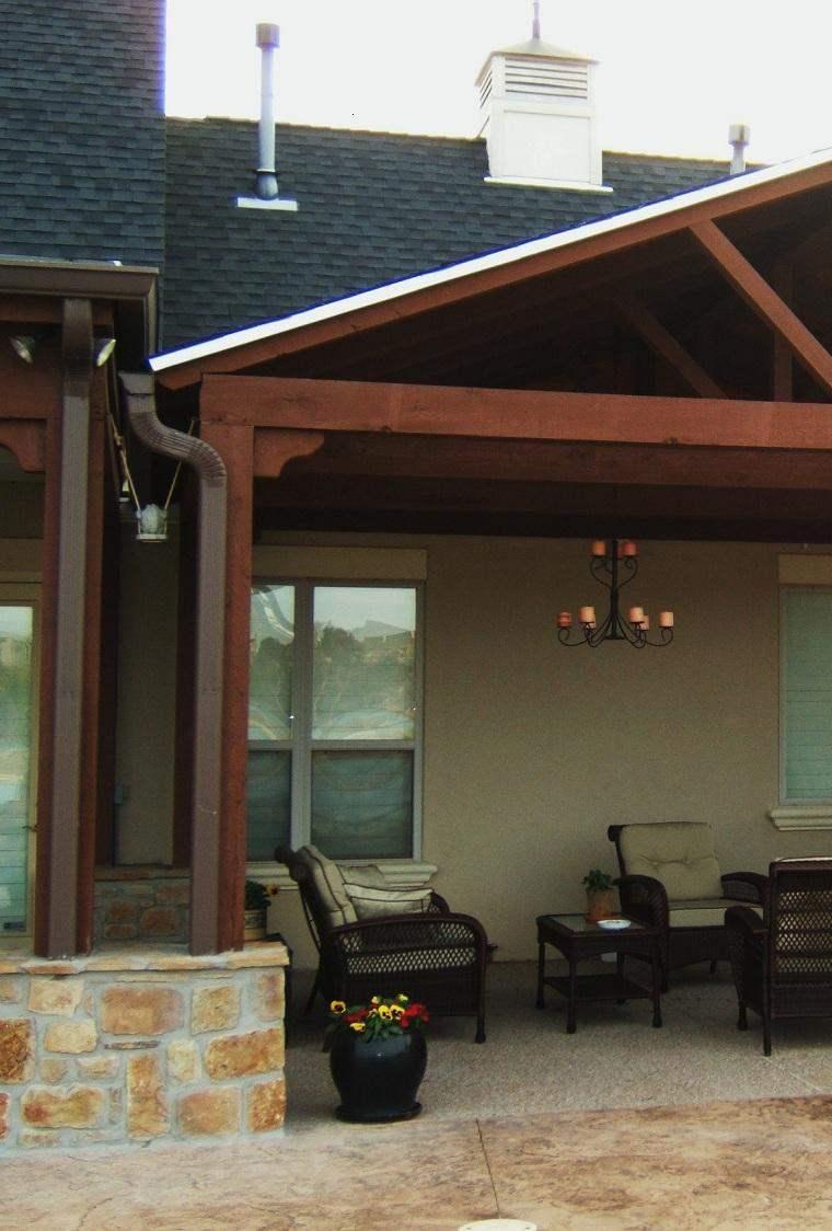 Porches para terrazas modelos de espacios semicubiertos for Cubiertas para casas