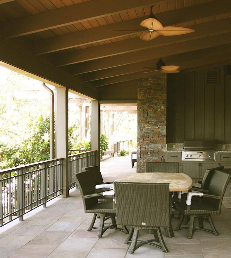 terraza cubierta porche comedor