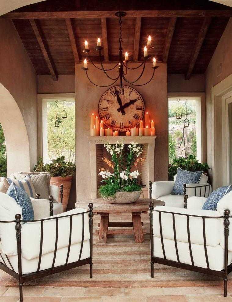 Terrazas cubiertas decoracion y dise o 48 ideas for Terrazas living