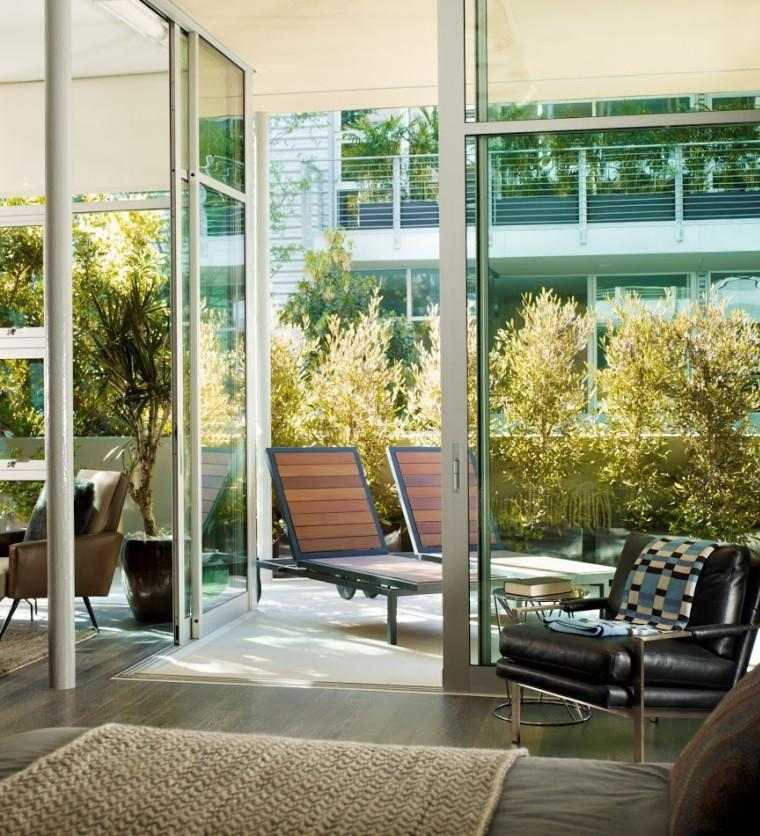 terraza modena porche tumbonas