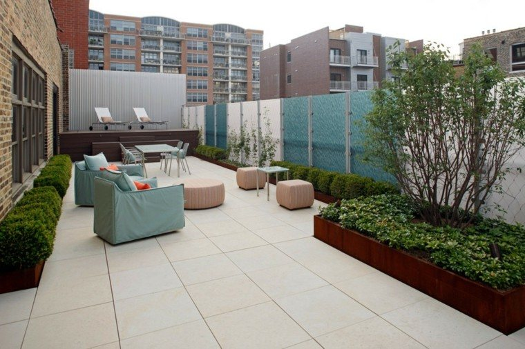 Ideas originales para decorar la terraza 50 im genes - Ideas decorar terraza ...