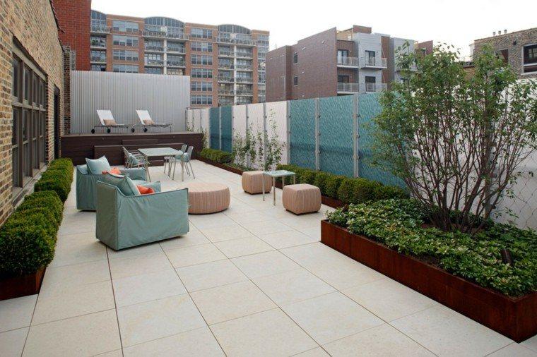 terraza grande decoracion moderna muebles