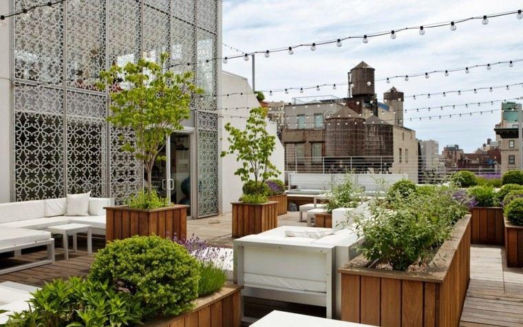 terrazas lujosas diseño moderno