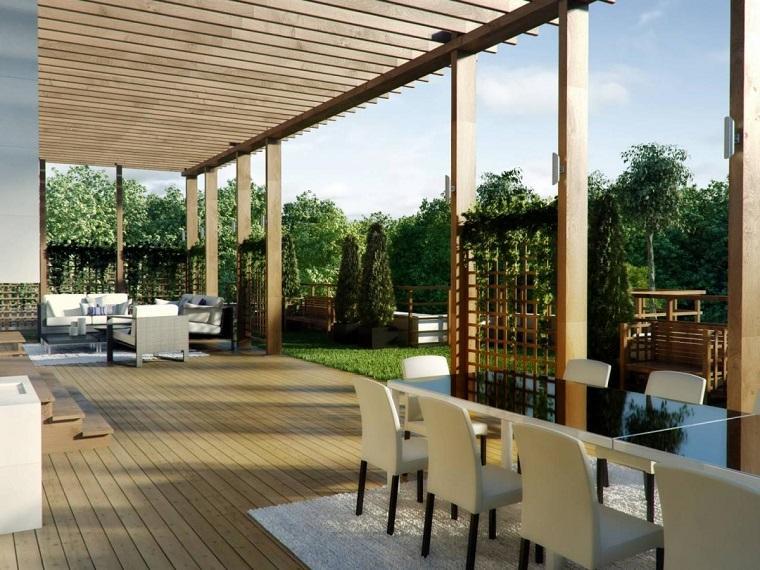 terraza-moderna-pergola-madera-diseno-moderno