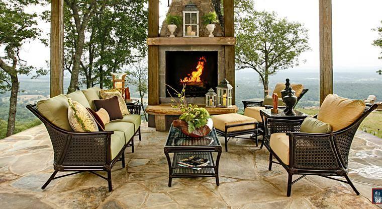 muebles estilo colonial interiores elegantes con madera. Black Bedroom Furniture Sets. Home Design Ideas