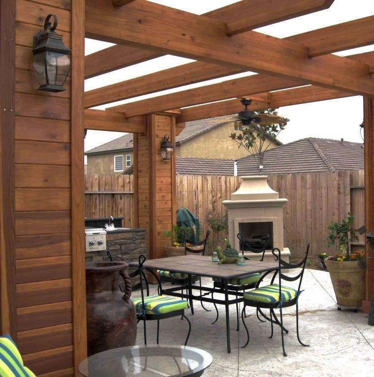 Gazebos y p rgolas ideas interesantes originales y modernas for Disenos de terrazas de madera