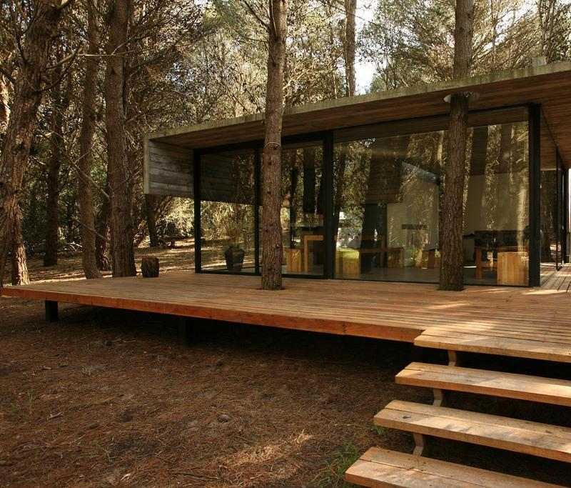 Decoracion de terrazas ideas con elementos de madera for Casas de madera para terrazas