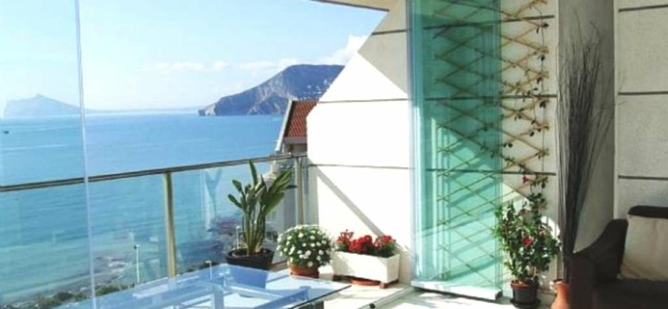 terrazas acristaladas diseño moderno vistas