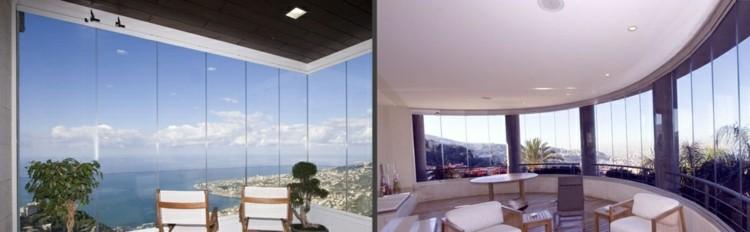 terrazas cerradas diseño lujoso