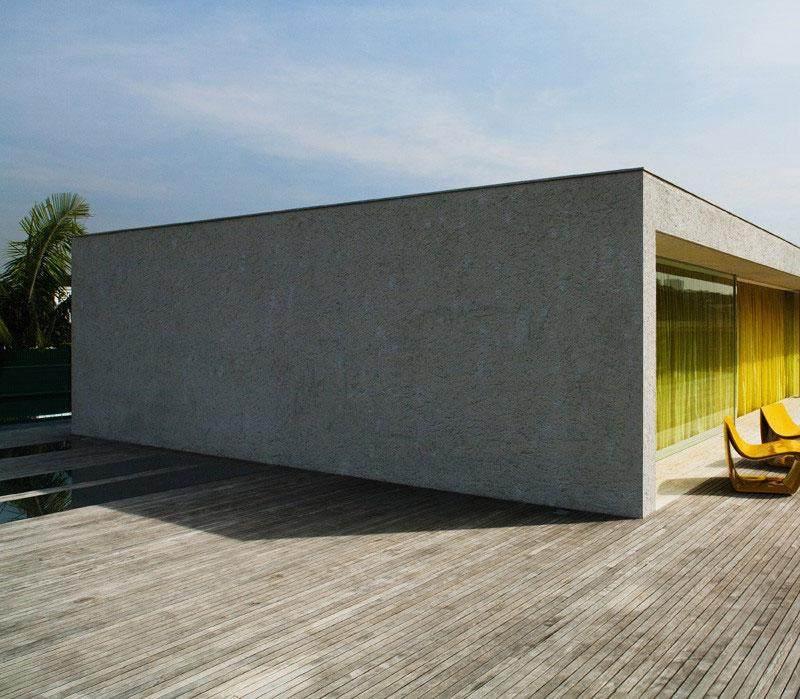 diseño minimalista terraza modena