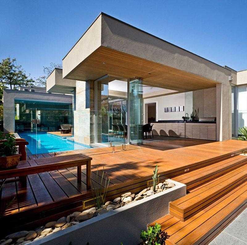 Decoracion de terrazas ideas con elementos de madera for Disenos de terrazas de madera