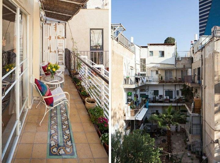 Balcones peque os decorados con mucho estilo 45 ideas for Pisos con terraza en bilbao