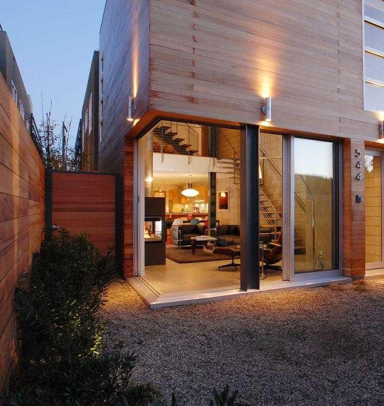 salón porche acceso exterior