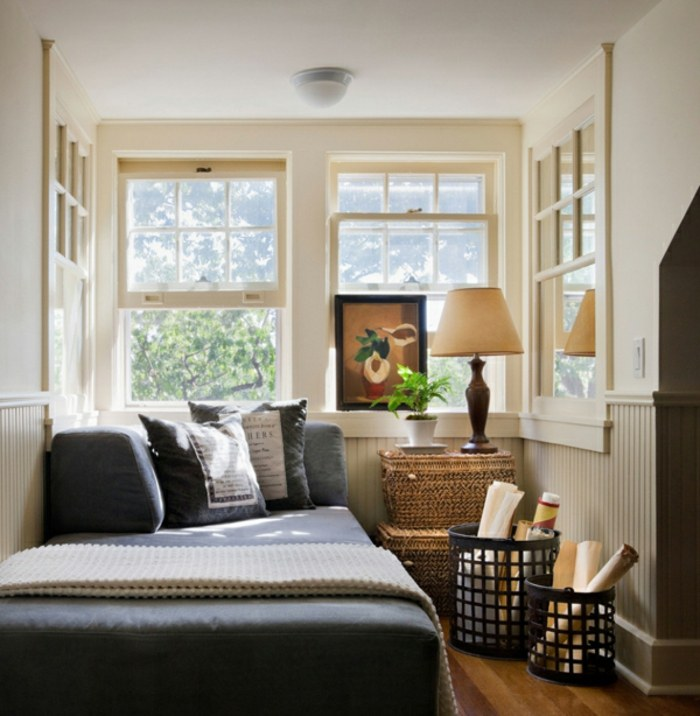 tropical diseño casa ventanas cestos fibras