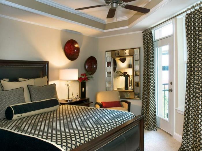 tropical diseño casa ventanas rojo