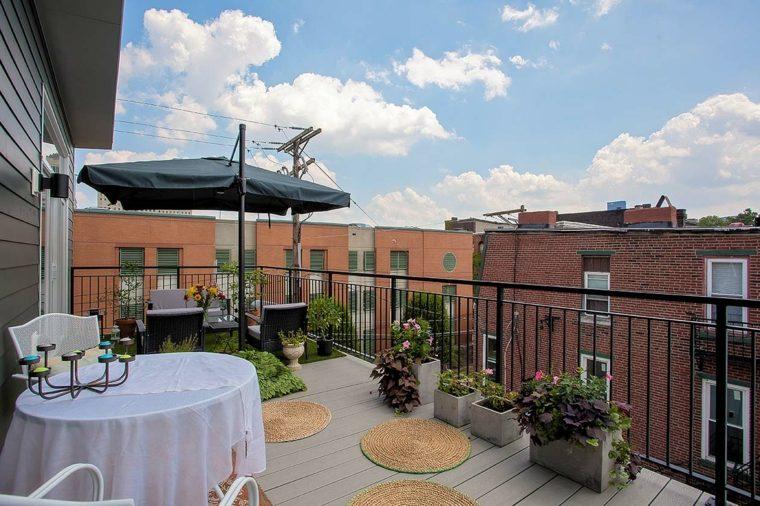 urbano diseño terrazasa decorados comedor