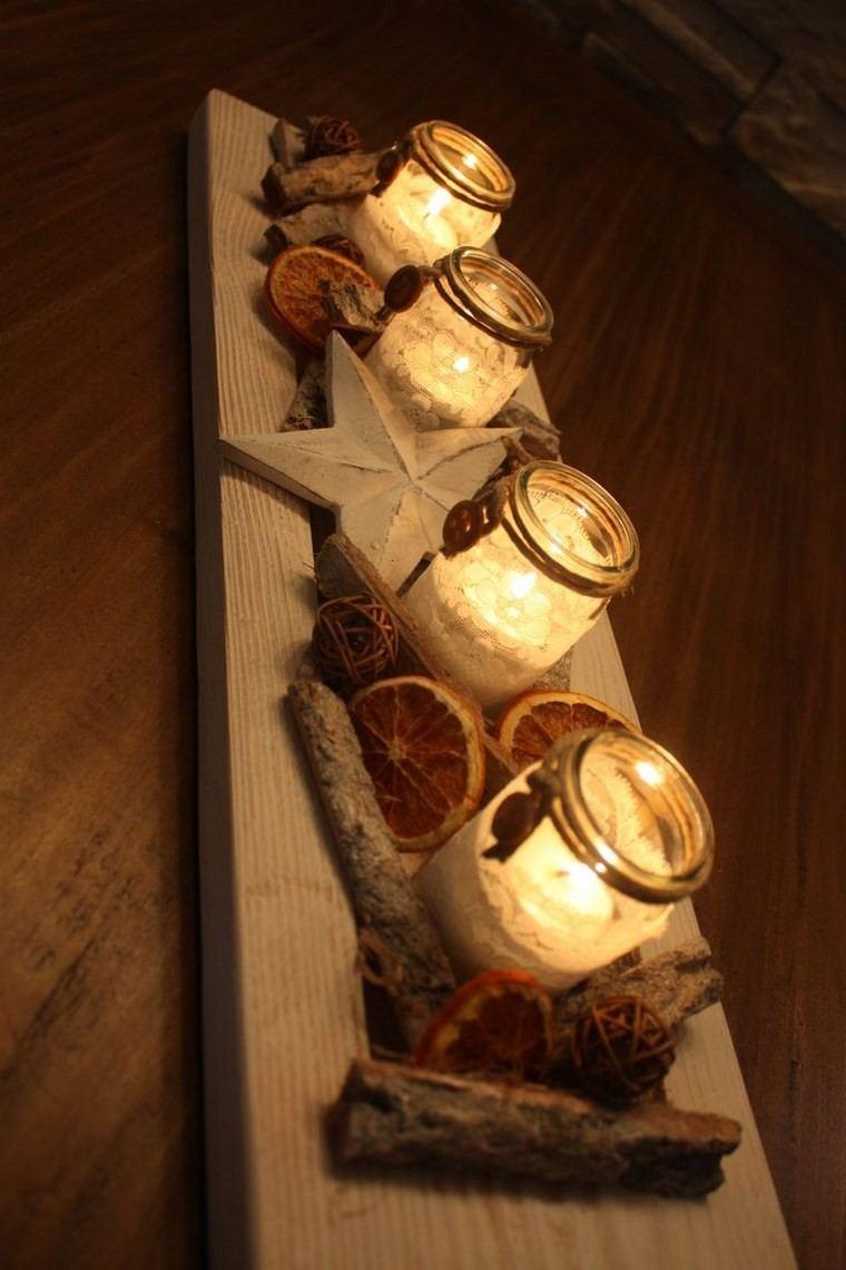 velas aromaticas decoracion casa centro mesa ideas