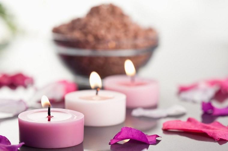 velas decoracion casa color rosa ideas