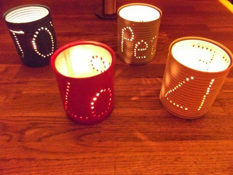 velas aromaticas decoracion casa latas colores ideas