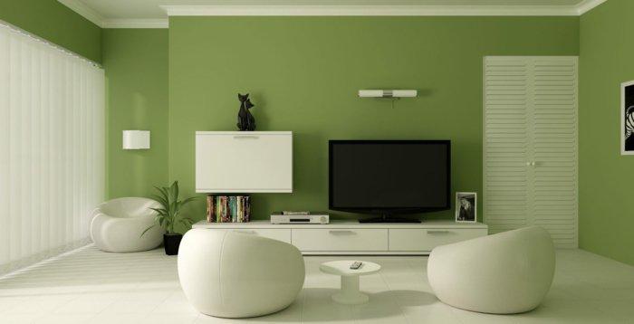 verde detalles decorado maderas moderno