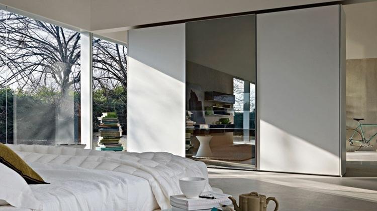 vidrio espejos incorporados mesas exteriores