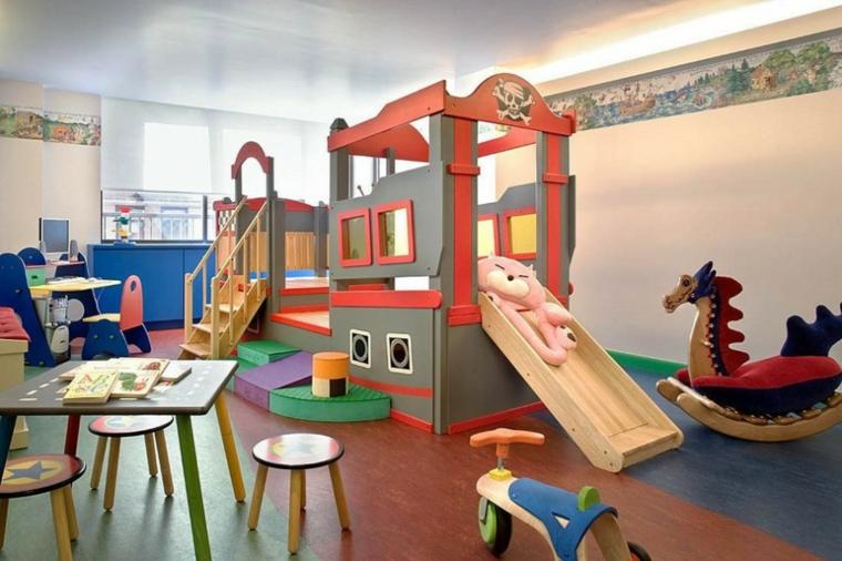 zona juegos infantil modulo moderna