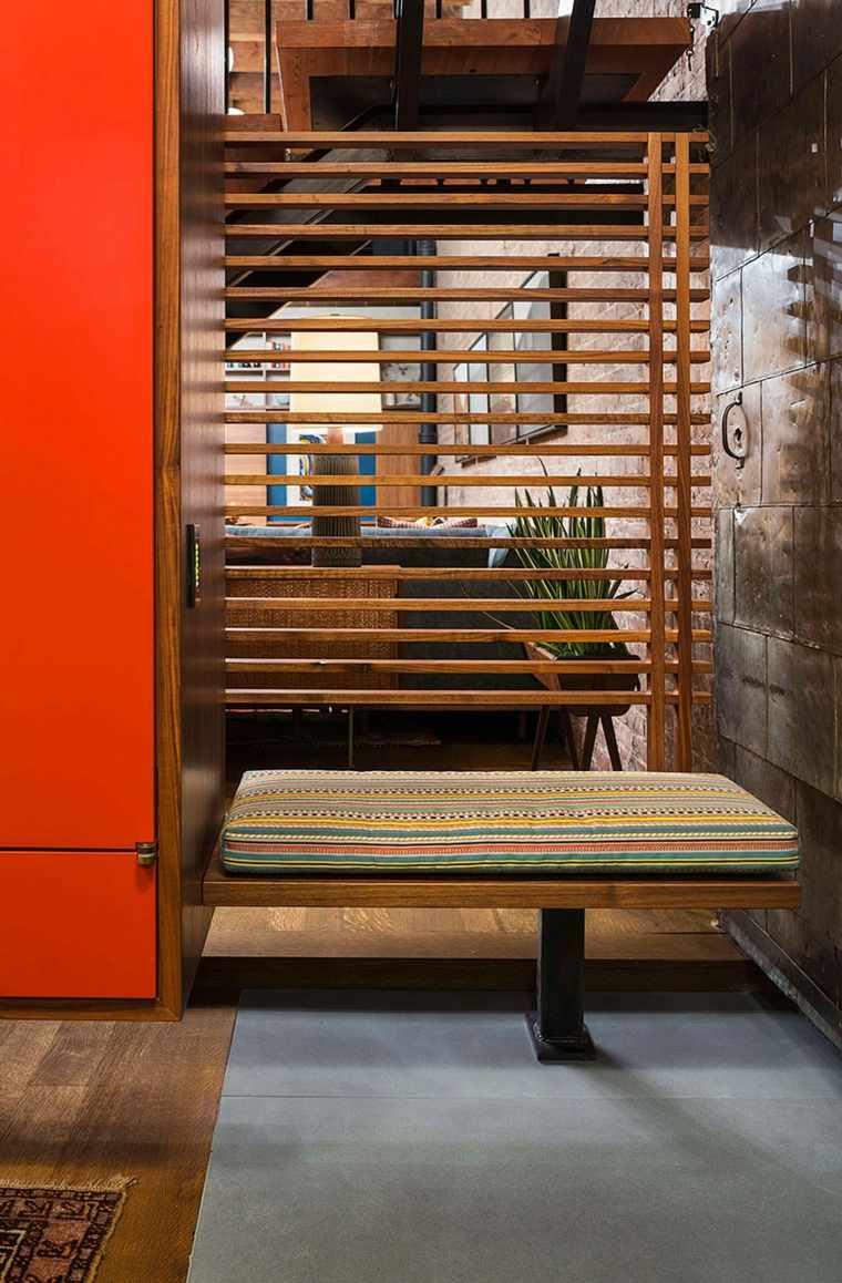 Andrew Franz Architect diseno loft banco precioso ideas