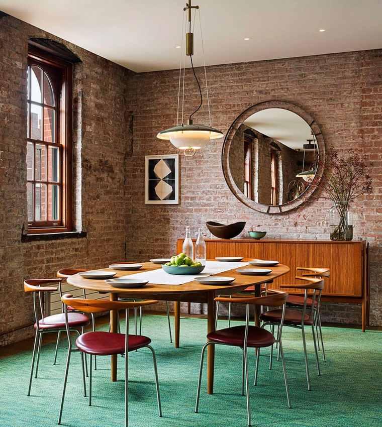 Andrew Franz Architect diseno loft comedor precioso ideas