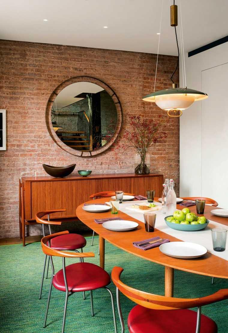 Andrew Franz Architect diseno loft espejo grande ideas