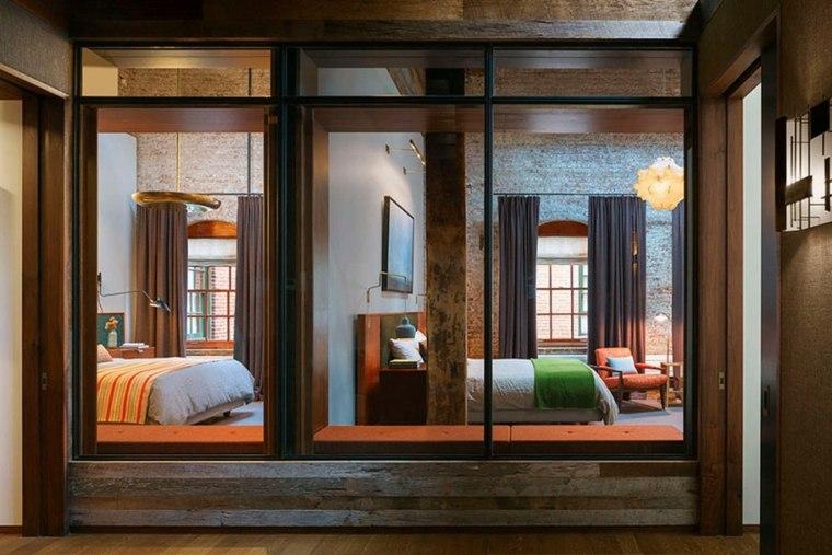 Andrew Franz Architect diseno loft opciones dormitorio ideas