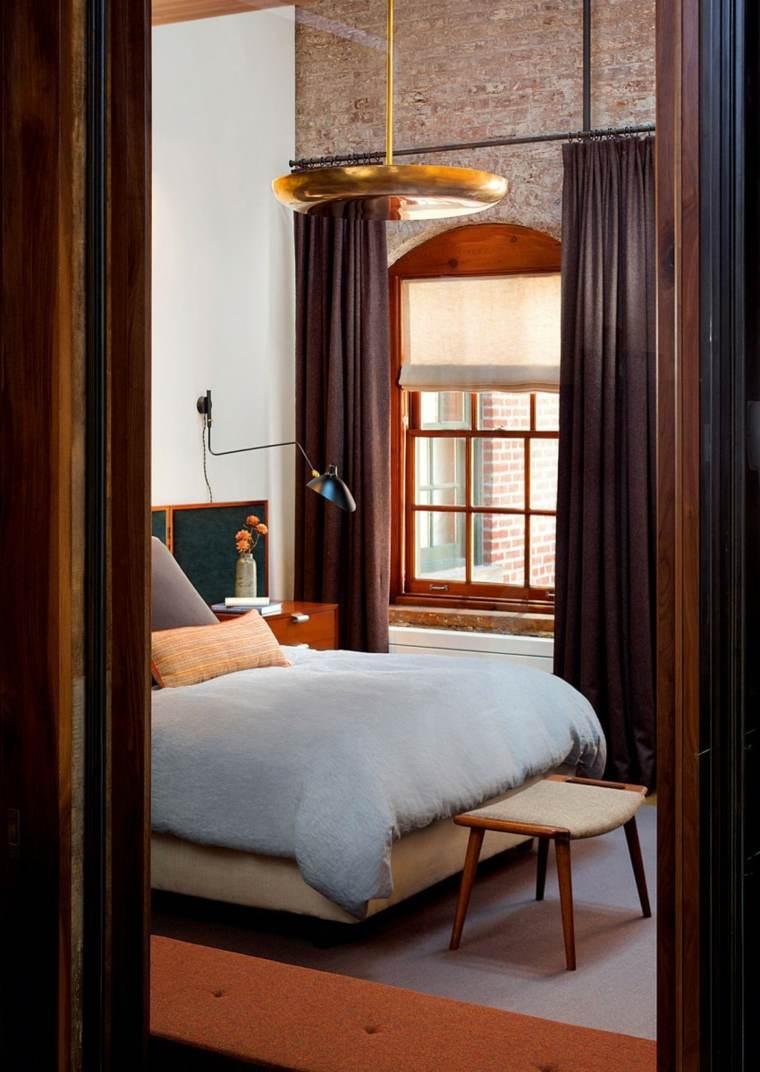 Andrew Franz Architect diseno loft taburete dormitorio ideas